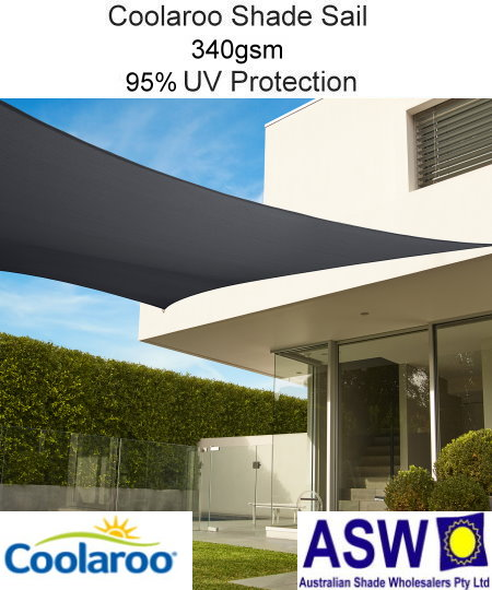 Square X Coolaroo Extreme Shade Sail 95 Uv The Shade Centre