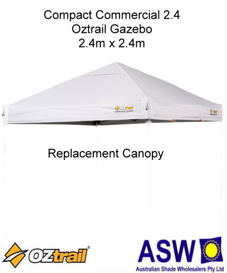 REPLACEMENT LEG For 2.4m x 2.4m POP-UP GAZEBO SPARE PART WITH CONNECTORS