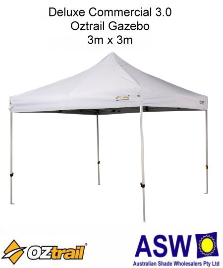 $399.95 $249.00  sc 1 st  The Shade Centre & 3m x 3m Oztrail Deluxe Commercial 3.0 Gazebo - The Shade CentreThe ...