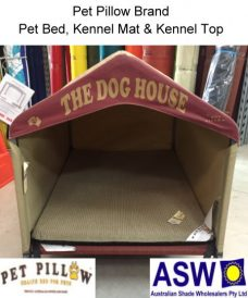 Pet Pillow Brand Complete Kennel with Dog Bed Kennel Mat and Kennel Top