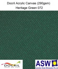 Docril Acrylic Canvas Heritage Green 072