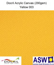 Docril Acrylic Canvas Yellow 003