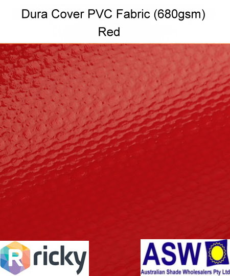 Dura Cover PVC Fabric Red