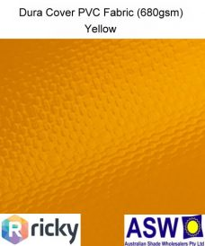 Dura Cover PVC Fabric Yellow