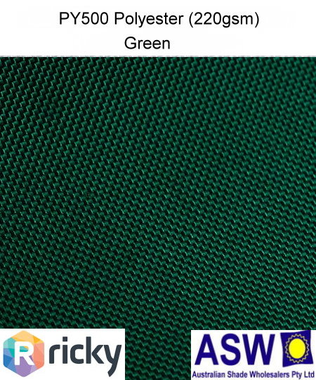 PY500 Polyester Green