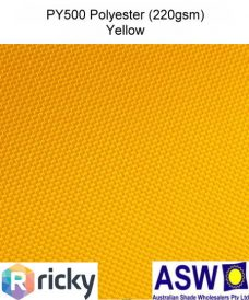 PY500 Polyester Yellow