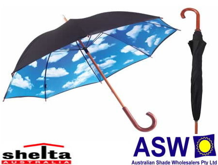 Shelta Upf50 Sun And Rain Umbrellas The Shade Centre Australia